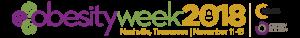 OBESITYWEEK Annual Scientific Meeting - 2018 logo